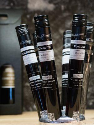 Chateau du Taillan推出了一款100毫升的樽裝酒,方便直接帶上飛機。