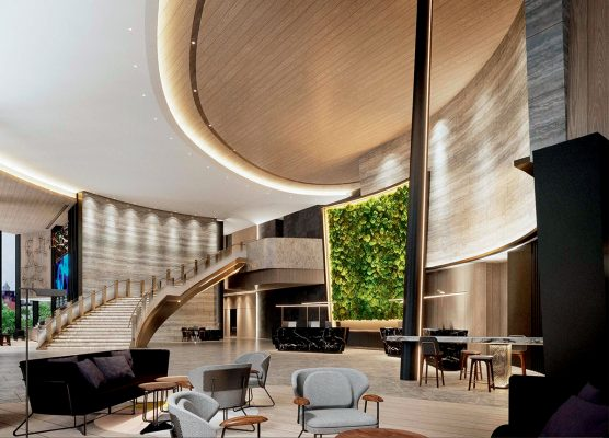 酒店的室內設計部分,由本地著名室內設計師陳樂文(Norman Chan)操刀。