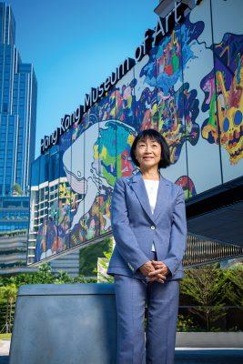 利張錫齡(Nancy Maria Lee Chang)、香港藝術館之友主席