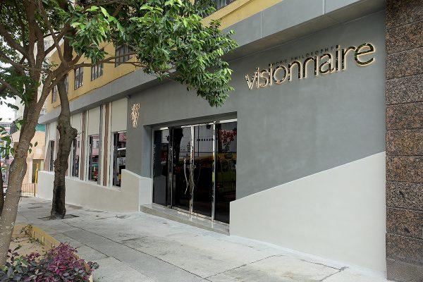 亞太區內首間,座落於香港仔的Visionnaire Embassy店。