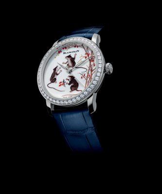 Blancpain Métiers d'Art特別版青花瓷錶盤腕錶