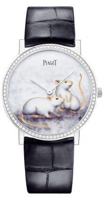 Piaget Altiplano系列鼠年生肖掐絲琺瑯工藝錶盤限量腕錶