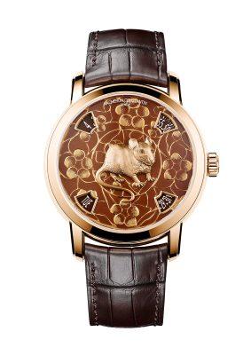 Vacheron Constantin Métiers d'Art系列中國十二生肖傳奇 — 鼠年腕錶