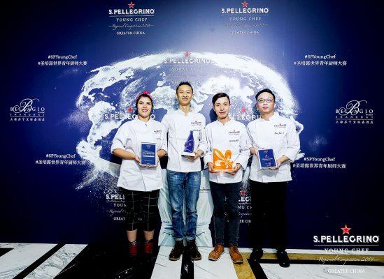 Ingrid 到上海參加2020年 S.PELLEGRINO 聖培露年輕廚師大賽大中華地區準決賽,圖為她與一眾得獎者合照。