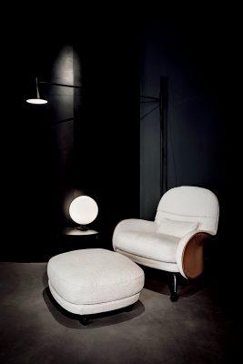De Padova扶手椅Louisiana:這張扶手椅靈感取自於馬鞍,是由意大利建築及設計師Vico Magistretil所設計。人手縫製和歷史久遠的皮革,是美與藝術的結合。