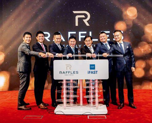 萬方夥拍新加坡上市公司奕豐集團旗下附屬公司成立新合營公司「萬方中國家族辦公室」,進軍內地市場。