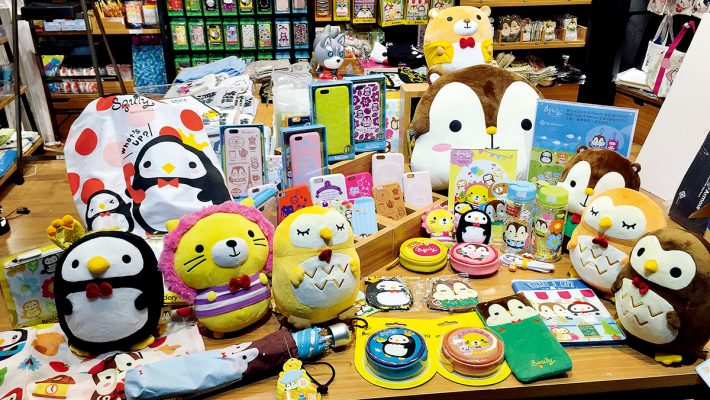 Cyril指原創卡通人物衍生的授權產品商機甚大。
