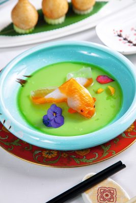 扇貝金魚餃