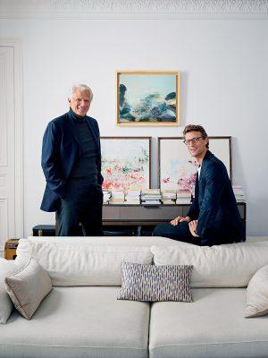Arthur與父親共同創辧Villepin,足見二人父子同心。