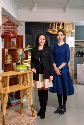 陳雅文與「飄雅活藝」創意總監陸詠沁。