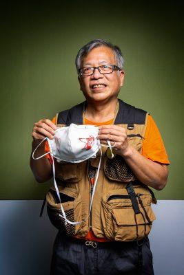 港大化學系博士鄺士山(K Kwong)。