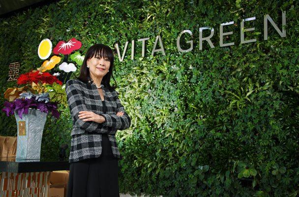 維特健靈健康產品董事長陳曦齡。