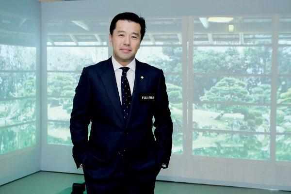 富士攝影器材香港富士執行董事上原正裕。