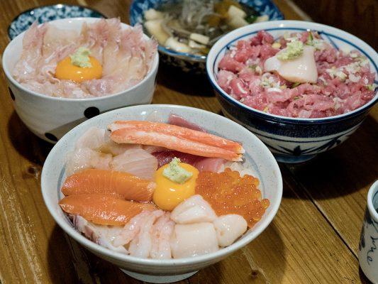 Minato食堂每一款海鮮丼都極為新鮮,每碗都想試。