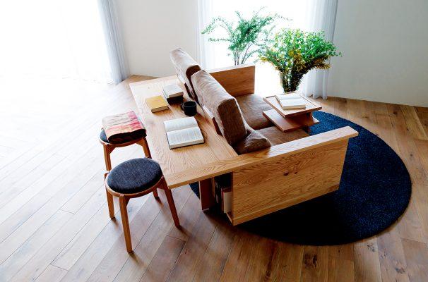 日本福岡著名品牌HIRASHIMA的其中一個陳列品,設計時尚簡約,並兼具實用功能,適合香港面積較小的家居風格。
