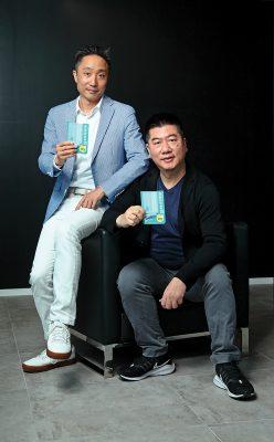 (左起)Innosphere 聯合創辦人楊兆航(Steve)及郭浩賢(Maurice)。