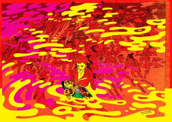 動漫畫家江記將展示以往拍攝的照片和著名的早期動畫。