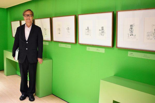 現任一新美術館總監楊春棠。