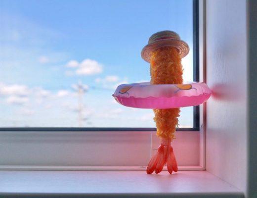 炸蝦在沉思......