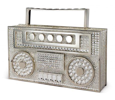 Judith Leiber Disco Boombox Handbag