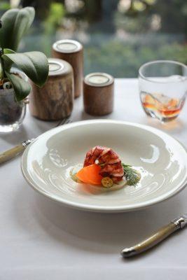 龍蝦柨子野菜沙律