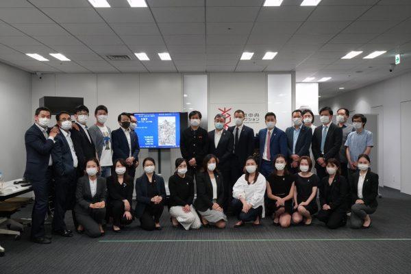 東京中央拍賣全體員工。