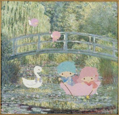 Le Bassin aux nymphéas : harmonie verte 睡蓮:莫內是法國畫家, 是印象主義的創立者之一,也是唯一在生前贏得大眾認可的印象主義畫家。《睡蓮》是莫內最為人熟知的藝術主題,季節和光線的變化都令他筆下多幅睡蓮畫作豐富多姿。此幅《睡蓮》的副標題為「綠色的和諧」,畫面安寧卻又生意盎然。綠色的和諧 Claude Monet克洛德.莫內(1840-1926):與原作相比,大家覺得這幅畫作的感覺怎樣?