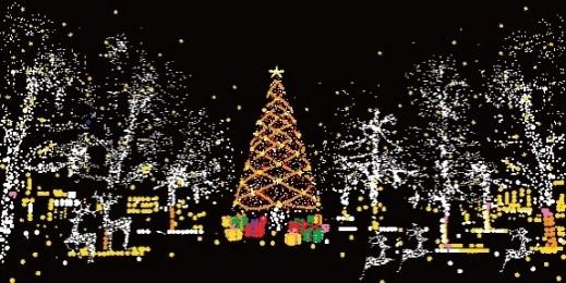 以日本聖誕燈飾為題的作品將展示於商場4樓至12樓的扶手電梯,配合璀璨燈飾,仿如置身日本冬日街頭,欣賞氣氛濃厚的聖誕裝飾。