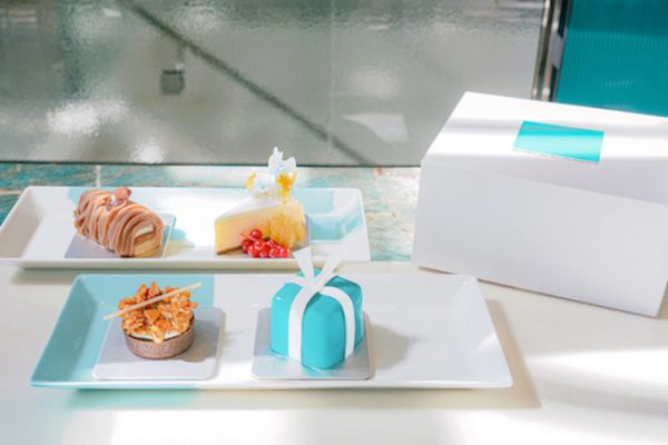 「Tiffany 四件裝甜品盒」