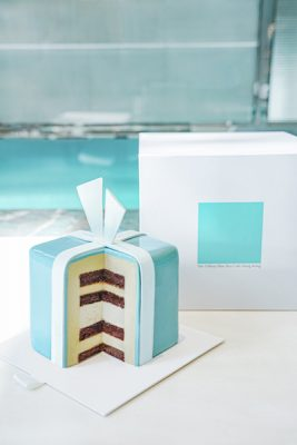 「The Blue Box Celebration Cake」