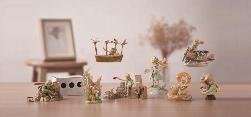 法國授權 x 日本海洋堂 《小王子75週年紀念版盒玩》 第二彈:星の流浪曲 珍藏版套裝 $860一 套(共8款) (珍藏版開售日:6月29日(小王子日))