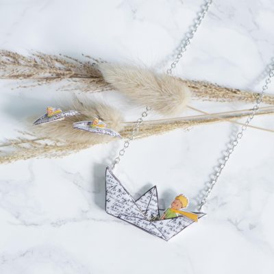 Whateversmiles x Le Petit Prince聯乘精品系列之一:立體熱縮膠手工飾品 $138-418。