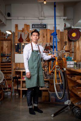 Bike The Moment主理人Hughes Lau (Hughes)