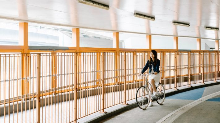 品牌與沙田新城市廣場合作,設計沙田單車路線,透過2至3小時的沙田深度遊記,介紹意想不到城中秘景。