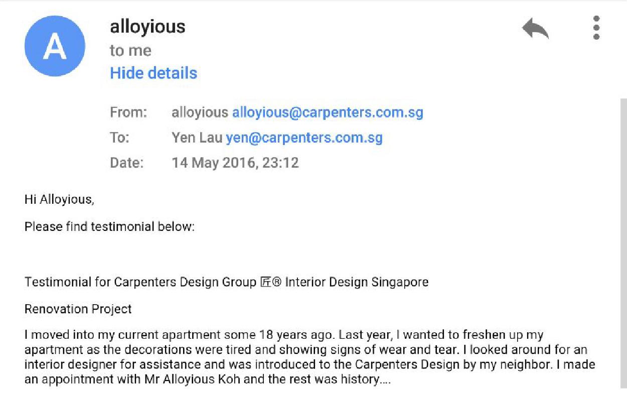 Hdb interior design in singapore 4 room flat at jurong east hwa li - Wk Chui