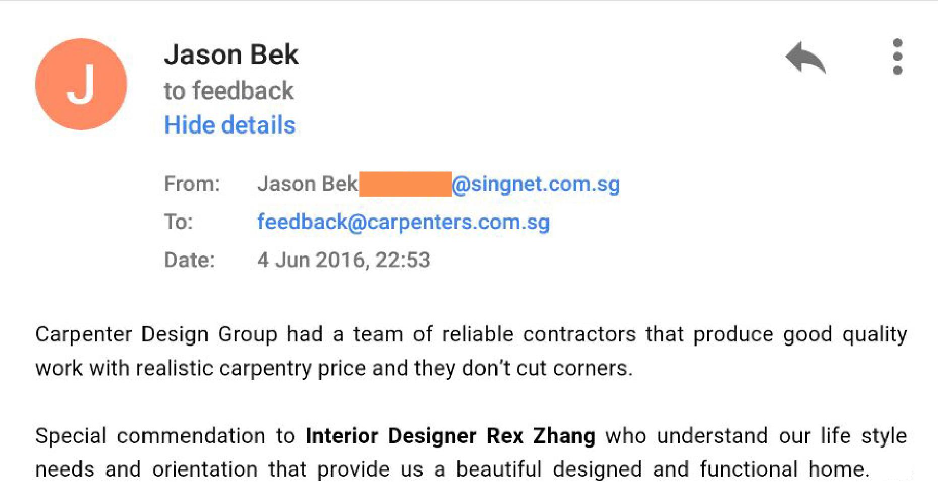 Hdb interior design in singapore 4 room flat at jurong east hwa li - Jason Bek
