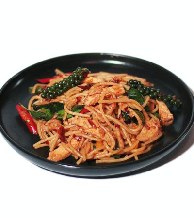 Fettuccini Spicy