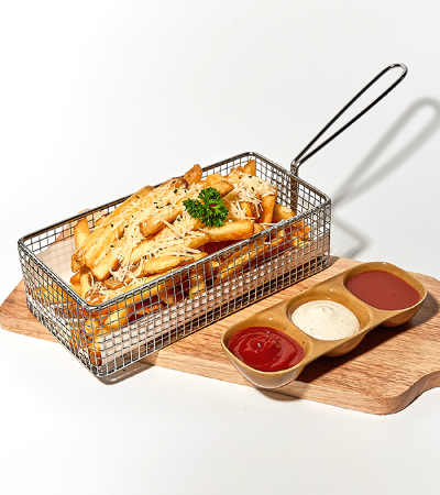 Truffle Fries with Truffle Mayo