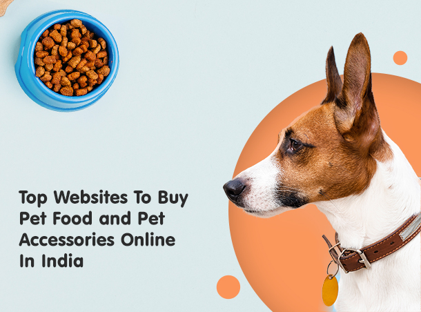 websites for pet food and accessories