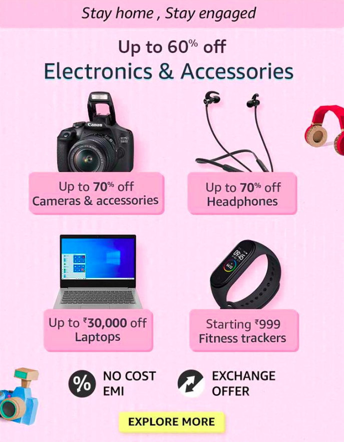 amazon prime day electronics offers