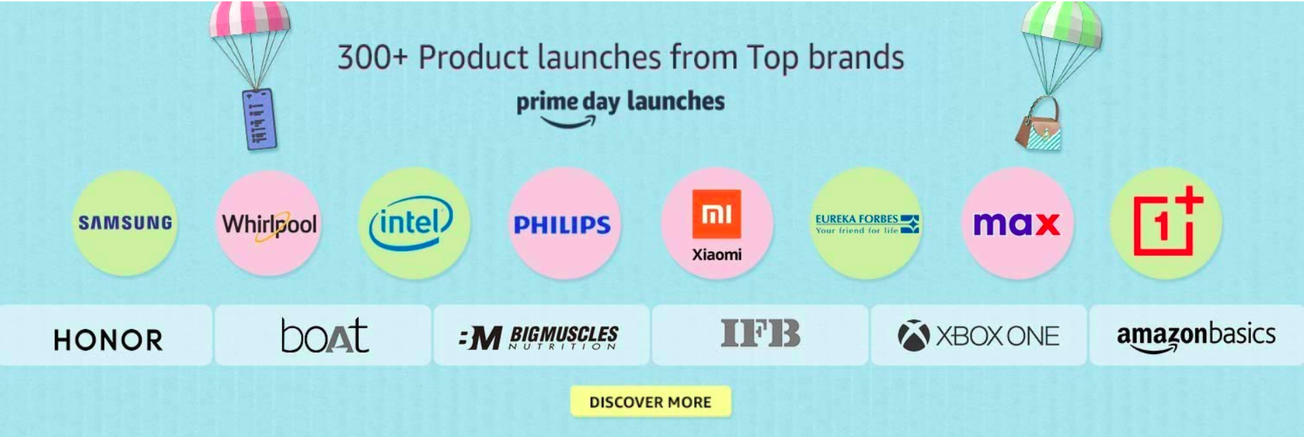 amazon prime day 2020 new launches
