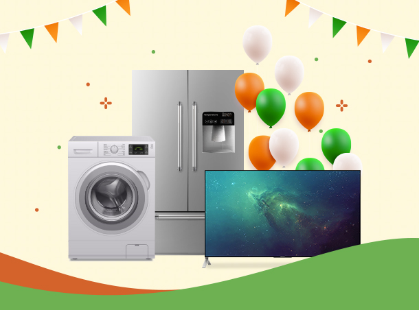 Discount on home appliances during independence day 2020