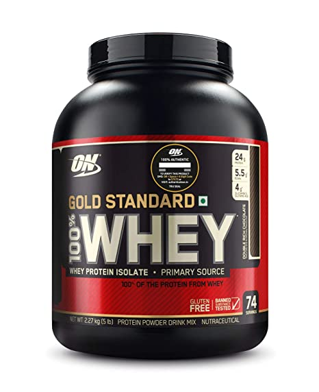 ON (Optimum Nutrition) Gold Standard 100% Whey Protein