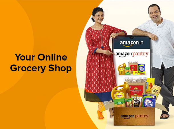 Amazon Pantry - Your Online Grocery Shop