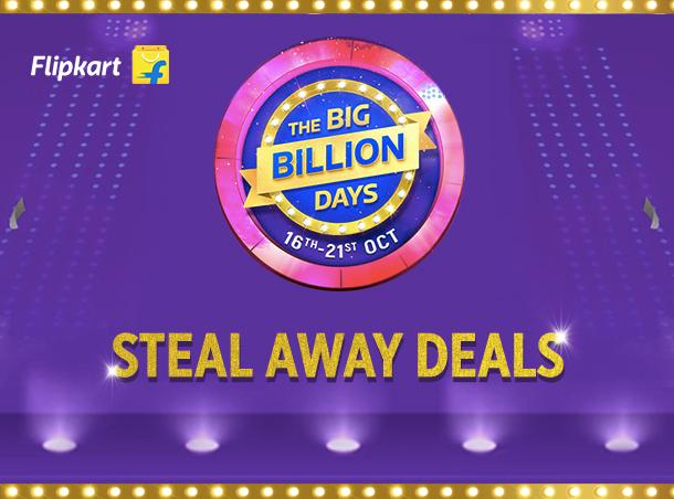 Flipkart Big Billion Day Steal Away Deals