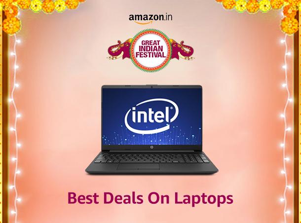 Amazon Great Indian festival Sale 2020 Laptop Deals
