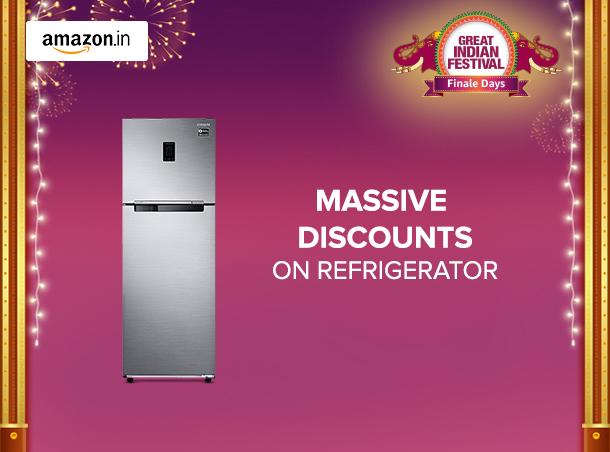 Amazon Great India Sale Discounts On Refrigerators