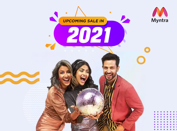 Myntra Upcoming Sale in 2021