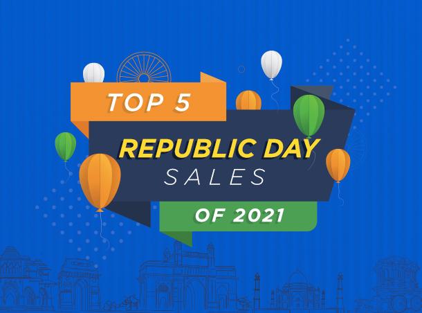Top 5 Republic Day Sale 2021