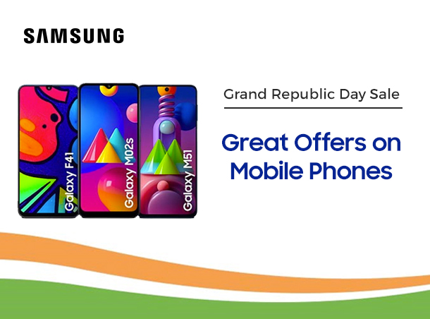 Samsung Grand Republic Day Mobile offers